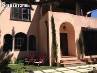 Fully furnished, elegant two-story Hollywood house,