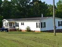 you are looking at a 4 bedroom 3 bath home on 5 acres