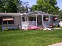 2010, 1725 square foot double wide mobile home in