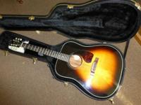 90s Gibson Gospel Acoustic Guitar with Accessories and