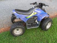 THANKS FOR LOOKING...UP FOR SALE IS A 90CC KIDS BLUE