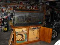 I have for sale a 90 gallon aquarium ( holds
