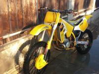 I have a 1991 Suzuki rm250 2stroke for sale asking