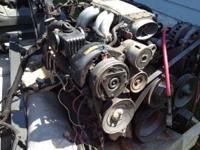 Complete motor from a running 91 camaro z-28, with full