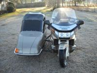 1991 HONDA GOLDWING INTERSTATE, ANNIVERSARY EDITION,