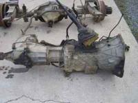 1991 Ford F250 Transmission W/ Transfer Case Borg