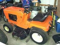 I have a restored 912 Allis Chalmers Hydro Stat lawn