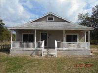 Good 3 bedroom 1 bath home with outdoor patio on 1 acre
