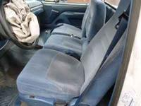This is a Ford factory 40-20-40 blue bucket seat set