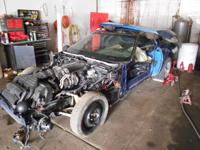 this is a 92 corvette with 4k miles on it. it is almost