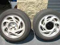 "I have a set of original 16"" wheels and tires off of a"