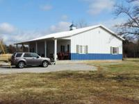 Morton Home w many upgrds, sit 'd on 19.84 Acres. North