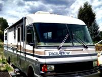 Class A Cabana Brown, Chevy 454  Engine, 43,504K miles,