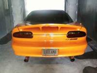 I am selling my stock tail lights for a 93-02 camaro. i