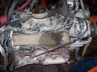 350 chevy T.B.I. motor from wrecked 93 sub. complete