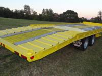 93 BUTLER TANDEM DUALLY TILT TRAILER- 24000 LB, AIR