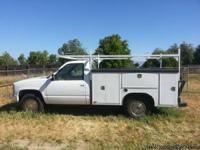 93 GMC 3500 (1 Ton) Service Truck runs good. 350 cu.