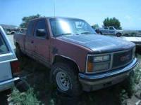 1993 Gmc Seirra SLE fpr parts call WES or MARK