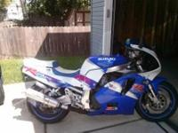 I have a 1993 Suzuki GSXR 750 for sale or trade for a