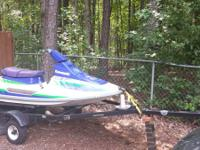 93 Kawasaki Tandem-Ski with newly worked pistons and a