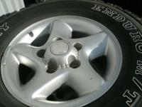 "have a set of 16""rims and tires for sale for as far as"