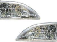 94-98 Ford Mustang Headlights Headlamps Pair Set