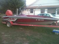 I have a 18.6 astro bass boat with 150 merc runs good !