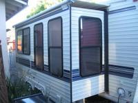 Wow what a travel trailer! Custom built by Bill Wyrick.