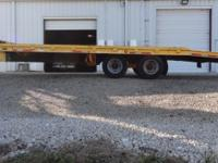 94 BUTLER TANDEM DUALLY TILT TRAILER 24000 LB, AIR