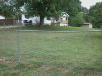 3 bed rooms 2 bath double wide. fenced in yard. little