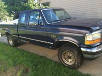 Offering my 94 f150 ext cab shortbed 5.0 l 4x4. Runs