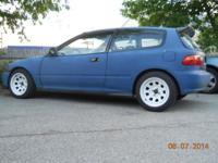 1994 honda civic hatchback dx. 2nd owner purchased it