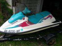 I have a 94 seadoo sp with title has trailor but not