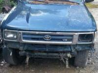 I HAVE A 1994 TOYOTA PICK UP TRUCK FOR SALE FOR PARTS