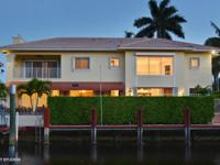 Tropic Isle is one of the most desirable waterfront