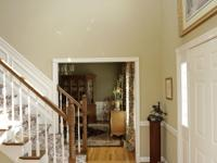Stately brick 2 story. 9' ceilings, huge rooms,
