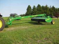 For sale. 2007 JD Moco disc mower conditioner 13' that