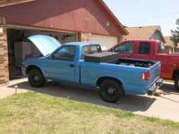 '94 Sonoma Clean title, no engine/transmission. Have