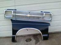 I have a Passenger front fender and a grill for a 1994