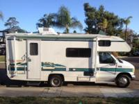 '95 22 foot RV - Fleetwood Tioga Walkabout - E350 with
