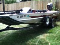 I have a nice 17ft bass tracker with a 60hp motor for