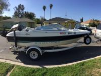 '95 Bayliner Capri. 17 ft (fits about 6 people) 120hp