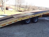95 BUTLER TANDEM DUALLY TILT TRAILER- 24000 LB, AIR