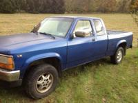 1995 Dodge Dakota 4x4 SLT extended cab, EMAIL for more