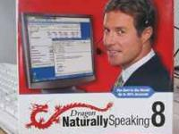 Dragon NaturallySpeaking 8 Professional The World's