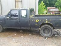 I HAVE A 1995 FORD F150 2WD FOR SALE FOR PARTS ONLY,