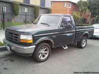 95 ford f150  v8 5.0 motor stick shift ac works