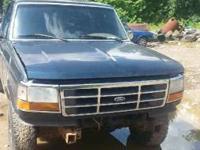"I HAVE A 1995 FORD TRUCK FOR SALE FOR PARTS ONLY,  ""I"