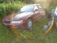 1995 Honda Accord. I am parting this out the engine is