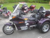 95 Goldwing 1500cc (6 cyl.) Trike. Motor Trike kit with